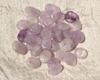 10pc - stone beads - Amethyst Chips 8-14mm 4558550018595 pucks