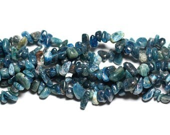 40pc - stone beads - beads 5-12mm 4558550023520 Apatite Chips