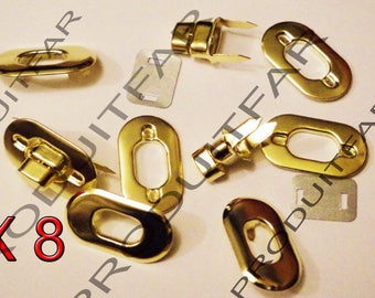 lot 8 turnlock wreck gold swivel for handbag satchel bag