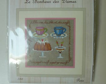 Ladies tea blessed Embroidery Kit