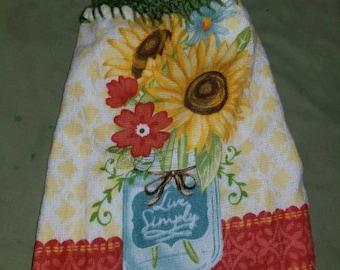 Handmade dish towel