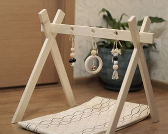 Baby gym and organic baby gym toy with Mobile Accessories.