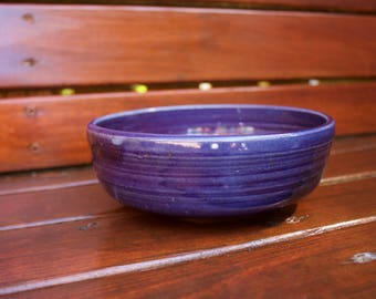 Deep Blue Low Medium Bowl
