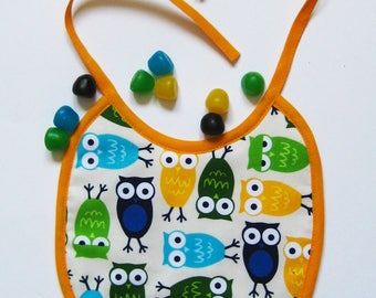 Yellow eyes OWL bib rounds