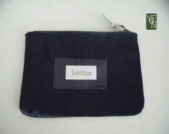 Coated liberty pouch with Pocket drink label