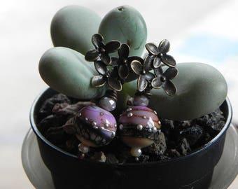 "beautiful handcrafted earrings ""my little lanterns"""
