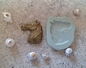 fimo wepam horse head silicone mold