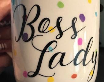 Boss Lady Decal