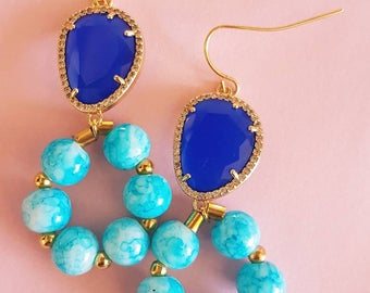 Blue sky earrings MJ008