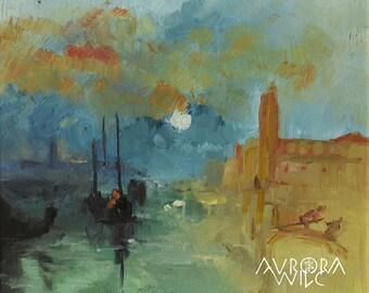 Waters in dawn A3 Fine Art Print