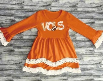 Girl's UT Tennessee VOLS Appliqué Dress