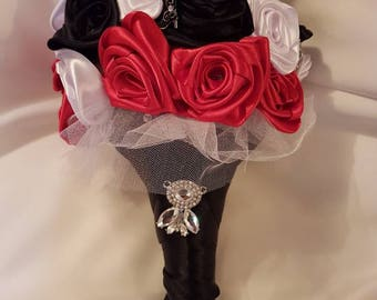 Rockabilly wedding bouquet