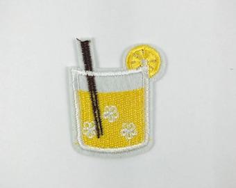 lemonade iron on patch