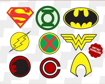 Justice league svg, Justice league clipart, Justice league vector, Justice league superhero eps, Justice league superhero dxf,