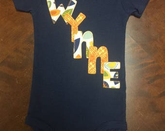 Personalized Onesies and Toddler Garments