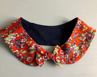 Adult Peter Pan collar