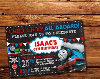 Thomas And Friend Invitation,Thomas And Friend Birthday,Thomas And Friend Birthday Invitation,Thomas And Friend Party,Thomas The Train -302