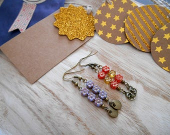 IDEA gift 2 pairs of earrings * LITTLE gift MINI price *.