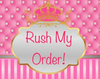 Bella Baby Boutique Rush Order Add On