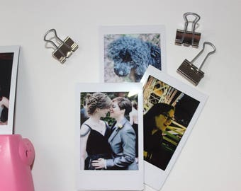 5 Custom Polaroid Pictures on Instax Mini Film