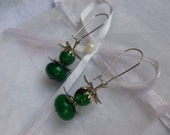 """Garden fairy"" earrings"