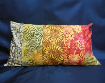 "Cushion collection ""Indian summer"", rectangle, 5 bands (C262)"