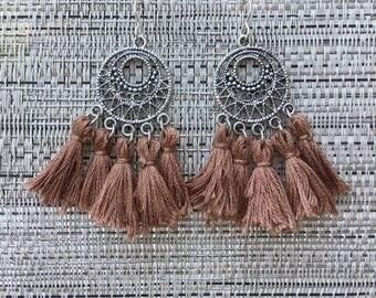 Dreamcatcher Tassle Earrings