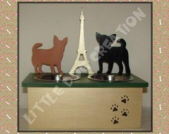 Dog Chihuahua Eiffel Tower restaurant