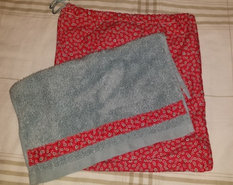 Guest towel and cloth storage bag