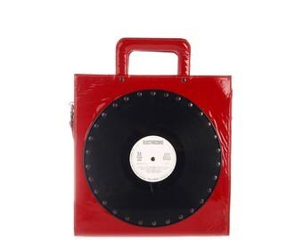 CH2 VINYLS RED BRIEFCASE