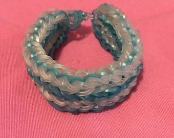Rainbow Loom bracelet elastic 4rang