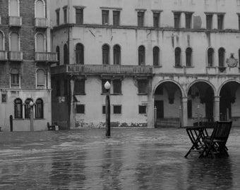Fine art photography - Venice under water: 30 x 20 cm