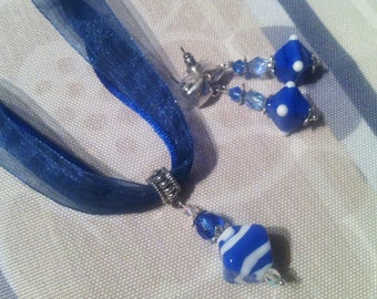 Set Navy Blue and white