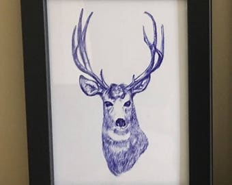 Stag (Ink)