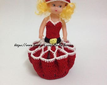 Display candy & chocolate special Christmas crochet