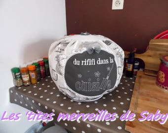 """protective cover for recipe """"of rififi in the kitchen"""""""