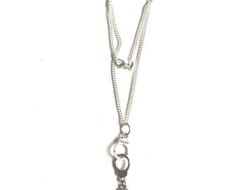 Necklace 50 shades of Grey handcuff and tie