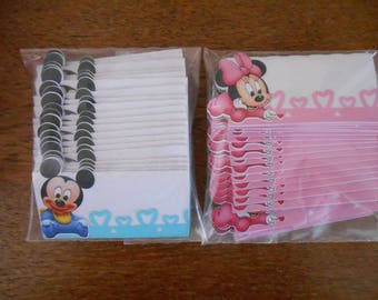 25 brand instead baby Mickey or minnie baby