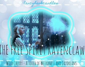Bookcandle-Luna Lovegood-Ravenclaw-Soy candle-handmade-Harry
