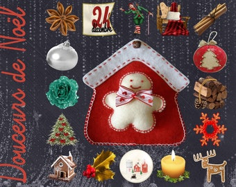 "Celebrate ""Sweet Christmas"", for your table placemat"