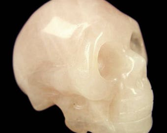 40mm - rose quartz crystal skull