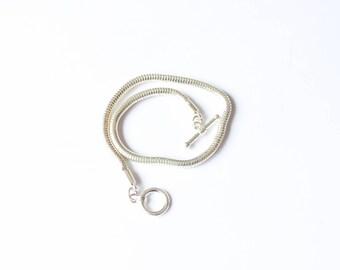 bracelet in Silver 3.0 mm length 220 mm