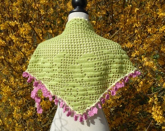 Spring colors scarf / shawl