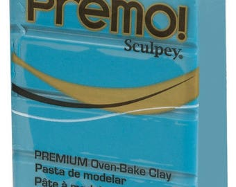 Sculpey Premo 57 g - Turquoise - Ref POPE5505 - maintained price until the stock!