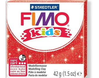 Polymer clay Kids 42 g - red Paillete N 212 - Ref 68030212 - while quantities last!