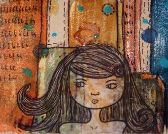 Postcard - precious doll 2013 - Lili'$