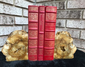 Crystal Geode Bookends