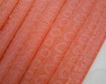 1.50 tape 15 mm width elastic ORANGE