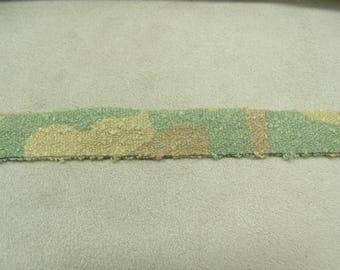 MILITARY camouflage - 1.5 cm - Green Ribbon