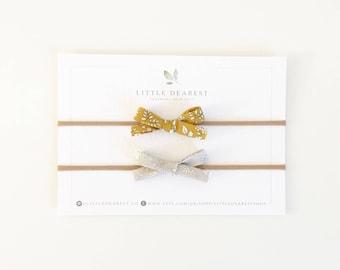 Liberty dainty bow set
